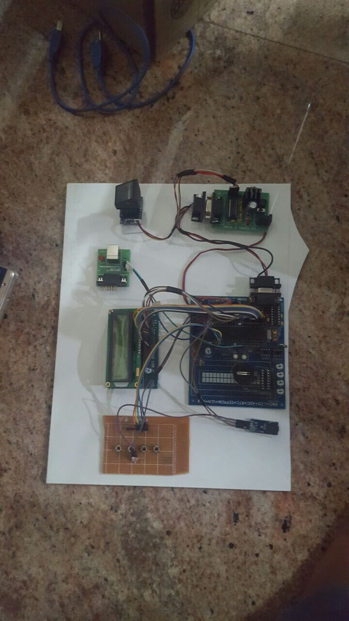 MicroController Projects and training for Engineering Students in