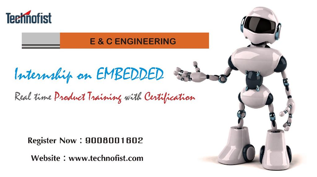 Internship for BE Final Year Embedded Mechanical and Computer